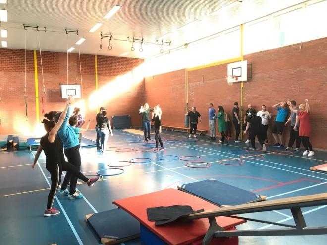 Fysieke grenzen verkennen met pedagogisch medewerkers van een BSO